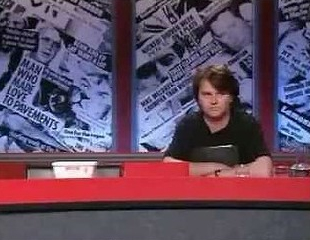 Have I Got News For You Lard (with panellist Paul Merton) copyright BBC
